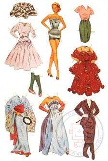 Paper Dolls : Grace Kelly Paper Doll Set : 1955 Hollywood Star : Princess of Monaco