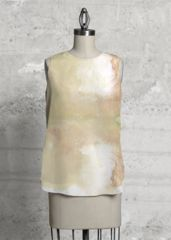 gold: What a beautiful product! GOLD SLEEVELESS TOP by lolo