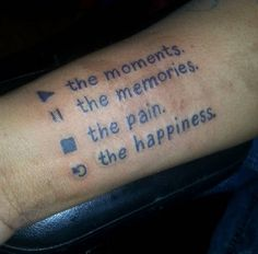 Life Controller Wrist Tattoo