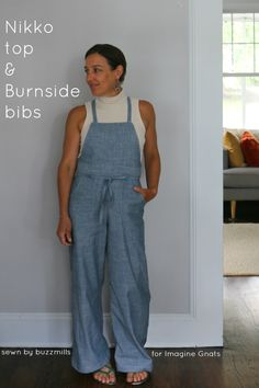 d2ced72695 sewing  nikko top and chambray burnside bibs. Bib PatternNikkoPattern  FashionSewing ...