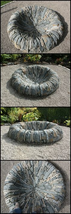There are fire pits and then there are fire pits... like this one from member, Callum Gray.  Yes, he travels!