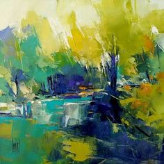 Abstract Landscape Painting, Abstract Watercolor, Landscape Art, Landscape Paintings, Abstract Art, Acrylic Painting Inspiration, Abstract Pictures, Impressionist Art, Contemporary Paintings