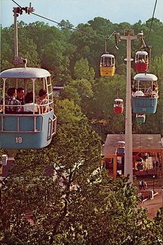Lost ride: Astrolift - Six Flags Over Texas by Rotin, via Flickr