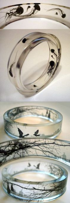 These Rings Are Very Cool - Had no luck finding who makes these or where to buy them.  Sadface.