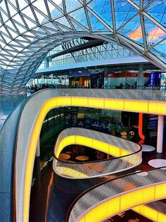 MyZeil Shopping Mall in Frankfurt, Germany by Massimiliano Fuksas Architetto, 2009