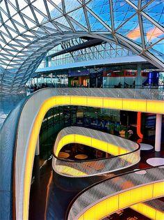 MyZeil Shopping Mall in Frankfurt, Germany by Massimiliano Fuksas Architetto, 2009