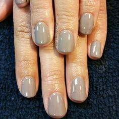 Gel manicure with Le Chat Perfect Match in Utaupia