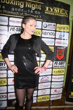 Ewa Brodnicka po zwycięstwie na Gali Tymex Boxing Night Pionki 8.02.2014