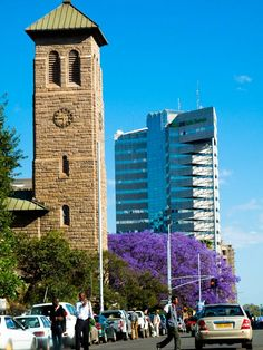 Walking up this road from convent. good times Harare I Zimbabwe Paises Da Africa, Zimbabwe Africa, South Africa, Uganda, Seychelles, Im Coming Home, Anglican Cathedral, Places Of Interest, Africa Travel