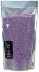 Dekorační barevný písek - fialový 500g č.