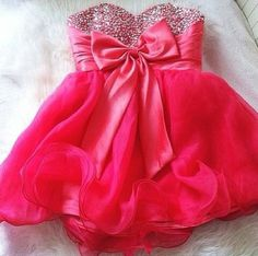 4 of my favorite things put together. Dresses, Bows, Sparkles, and PINK Sequin Formal Dress, Sequin Party Dress, Formal Dresses, Formal Wear, Short Dresses, Cocktail Dresses Online, Prom Dresses Online, Prom Dress 2013, Homecoming Dresses