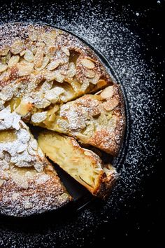 Fragrant almond cake with custard-like bottom and crisp top with a variety of sweet and tart apples. This recipe is from Bake From Scratch magazine (vol.3 issue 3; May/June 2017). But I made some changes in the recipe below.