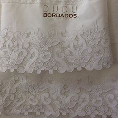 This Pin was discovered by Sul Cutwork Saree, Cutwork Embroidery, White Embroidery, Embroidery Patterns, Machine Embroidery, Pillowcase Pattern, Parchment Craft, Point Lace, Cut Work