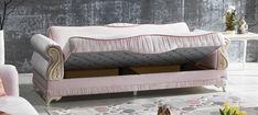 Canapea extensibila 3 locuri Beyzade Cream K2 #homedecor #inspiration #sofa #livingroom #decoration #decor #design Lounge, Couch, Furniture, Home Decor, Chair, Airport Lounge, Drawing Rooms, Settee, Decoration Home