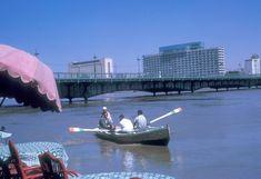 #Egypt 1961 Cairo, Opera House, Boat, Building, Vehicles, Travel, Dinghy, Viajes, Buildings