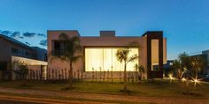 Fachada lateral (De Tony Santos Arquitetura)