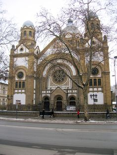 synagogue in Novi Sad, Serbia