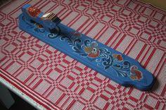 "mangle board by "" Scandinavian folk art painter' on Facebook"