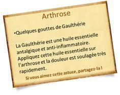 huile essentielle gaultherie arthrose