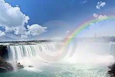 Rainbows At Niagara Falls - Download From Over 24 Million High Quality Stock Photos, Images, Vectors. Sign up for FREE today. Image: 8036752