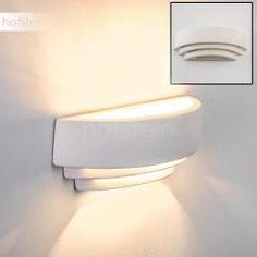 Vibio Applique Bianco, 1-Luce Applique, Wall Lights, Lighting, Design, Home Decor, Light Bulb Vase, Light Fixtures, Colors, Gypsum