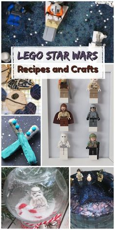 Looking for some fun LEGO Star Wars craft ideas or recipes for a party or play date? Here are some of our favorites! Kids Craft Supplies, Craft Projects For Kids, Activities For Kids, Craft Ideas, Diy Ideas, Star Wars Food, Lego Star Wars, Cute Kids Crafts, Creative Crafts