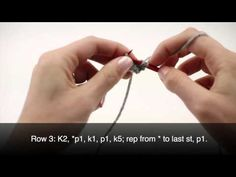 For written instructions and photos please visit: http://newstitchaday.com/how-to-knit-the-moss-stitch-diagonal-stitch    This video knitting tutorial will help you learn how to knit the moss stitch diagonal stitch. The moss stitch diagonal stitch creates a beautiful diagonal pattern. The moss stitch diagonal stitch would be great for baby blanket...