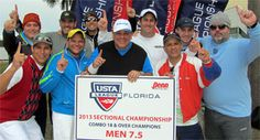 2014 Combo Men's 7.5 division champions from Doral