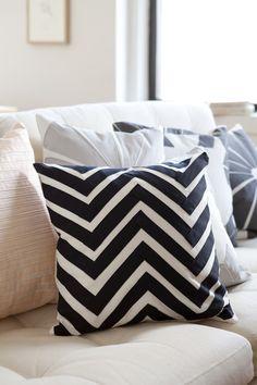 """Zigzag Pillow - 16"""""""