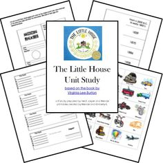 The Little House Free Unit Study Lessons and Lapbook Printables from Homeschool Share