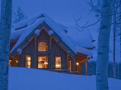bluepueblo:  Snow Cabin, Denver, Colorado  photo via houzz