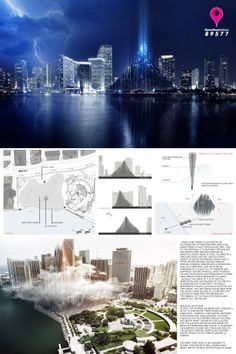 [A3N] : Landmark Miami Design Competition Winners 2013 ( Honorable Mention : GREAT SPIRIT WOODS ) / Jakub Frolik & Vojtěch Kolář (Czech Republic)