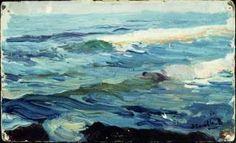 Mar. 1902 Watercolor Sketchbook, Beach Room, Painter Artist, Color Studies, Sketchbook Inspiration, Landscape Paintings, Oil Paintings, Great Artists, Paint Colors