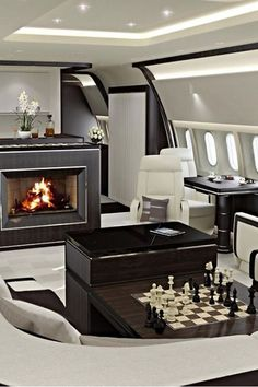 """luxuriousimpressions: """"Luxury Private Jet Owned by Gunnar Larson Source Li"""" Jets Privés De Luxe, Luxury Jets, Luxury Private Jets, Private Plane, Luxury Yachts, Yacht Design, Rich Lifestyle, Luxury Lifestyle, Private Jet Interior"""