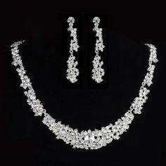 Aliexpress.com : Buy Manufacturers Upscale Wedding Jewelry set Bridal Hairband…