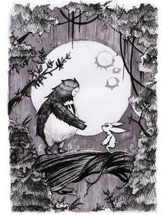 Ori and the Blind Forest fan art by Tumblr user kaoruyo