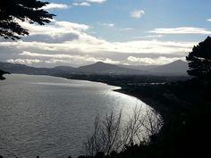beautiful killiney view dublin on a big sunday cycle #feeltheburn #hills #worth it  19.01.14