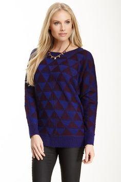 Triangle Knit Sweater