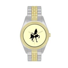 American Saddlebred Horse Silhouette watch