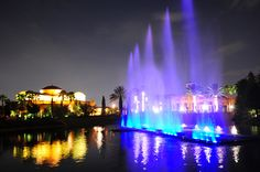 The Crystal Living Waters - Photo courtesy of The Holy Land Experience