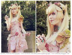 Steampunk Princess Peach スチームパンクピーチ姫 爽やかな色合いでかわいい。