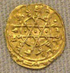 Solomon's Seal on Abbasid coin ~13th century