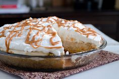 Roasted Banana Cream Pie by Pennies on a Platter, via Flickr