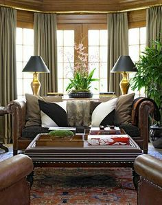 Lovely Living Rooms Family Rooms Traditional Living