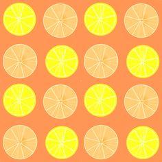 free digital orange lemon fruit scrapbooking paper: printable DIY wrapping paper