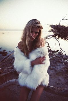 fur on the beach.. yes