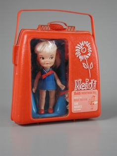 Heidi Pocketbook Doll  doll  1964    Manufacturer	Remco Industries Inc.