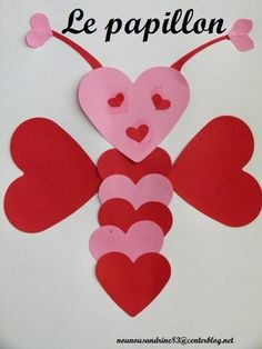 Valentine Crafts, Valentines Day, Easy Crafts, Origami, Activities, My Favorite Things, Recherche Google, Madame, Arts