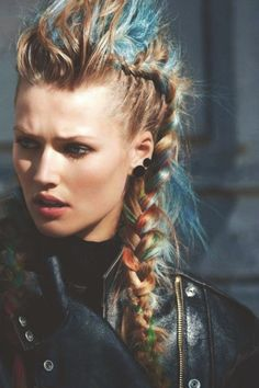 dirtbin designs: Viking Hair