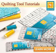 Quilting Tool Tutorials. xxx